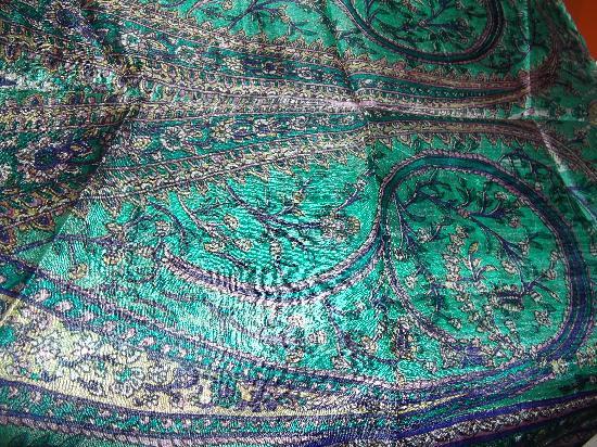 Krishna Textiles : silk scarf# 2