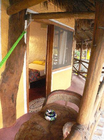 Holbox Hotel Mawimbi: Balcony