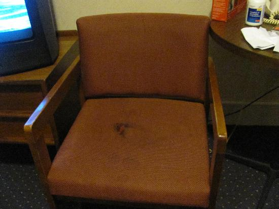 Days Inn Monticello: Anyone want to sit here?