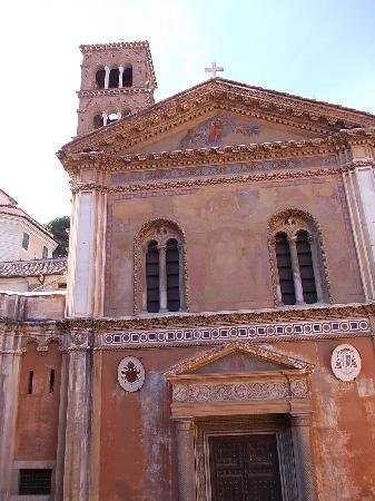 Santa Pudenziana: S. Pundenziana Portale