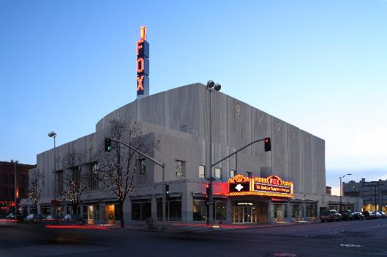Spokane Symphony : Exterior view of Symphony home - Martin Woldson Theater at The Fox