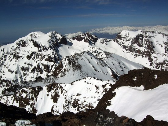 High Atlas Mountains: Summit of Mount Toubkal