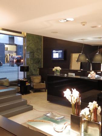 Hotel Actual: reception