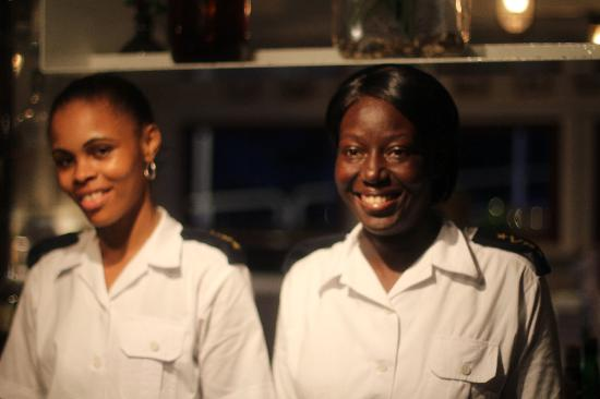 Lighthouse Ship Restaurant : The Welcome Crew