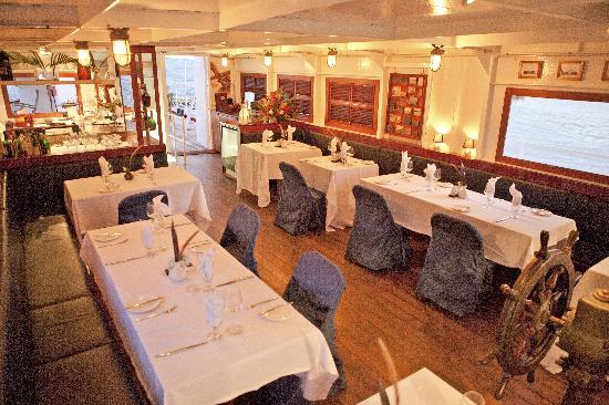Lighthouse Ship Restaurant: Inside the Restaurant