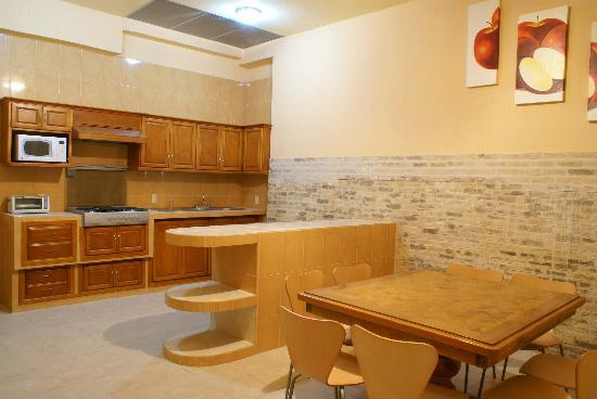Residencia Los Angeles B&B: cocina común