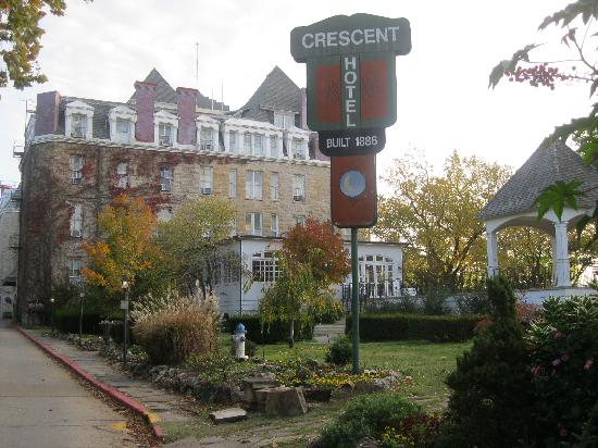 1886 Crescent Hotel & Spa: Beautiful location!