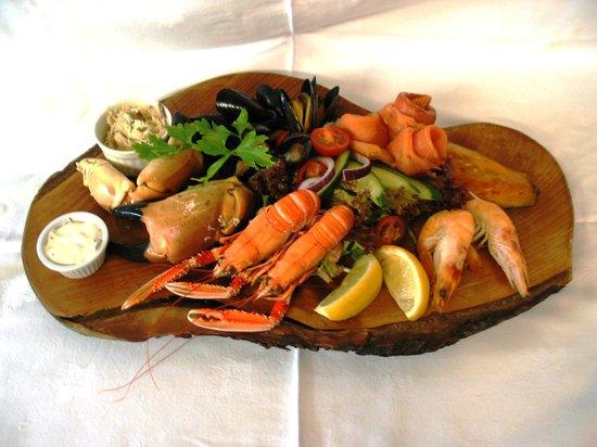 The Bellachroy Restaurant : Seafood Platter