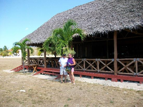 Club Amigo Carisol Los Corales: Snack Bar down by the beach