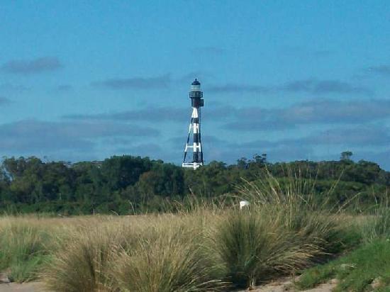 Tapera de Lopez: Vista del Faro San Antonio