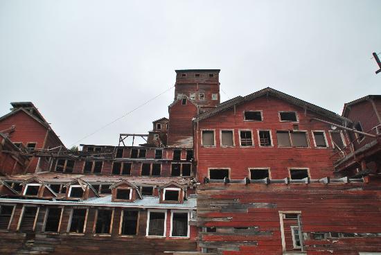 Copper Oar Rafting Day Trip: Copper Mill in Kennicott, AK