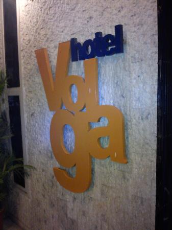 Hotel Volga: Welcome Board