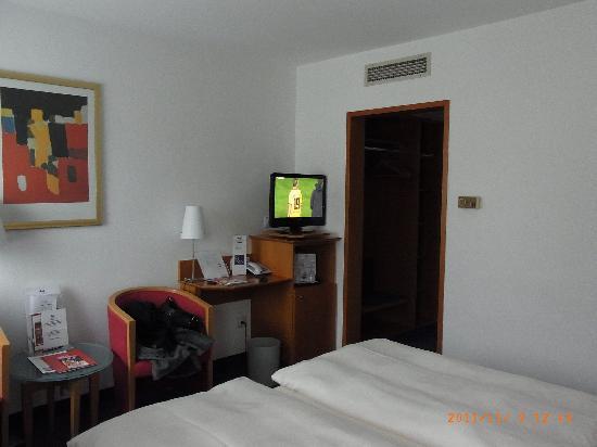 Hotel Walfisch: Zimmer Nr. 204