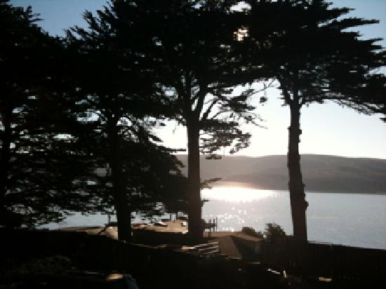 Inn on Tomales Bay: Sunset from our room