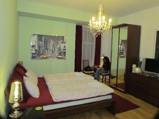 ดานูบเกสท์เฮาส์: la habitación