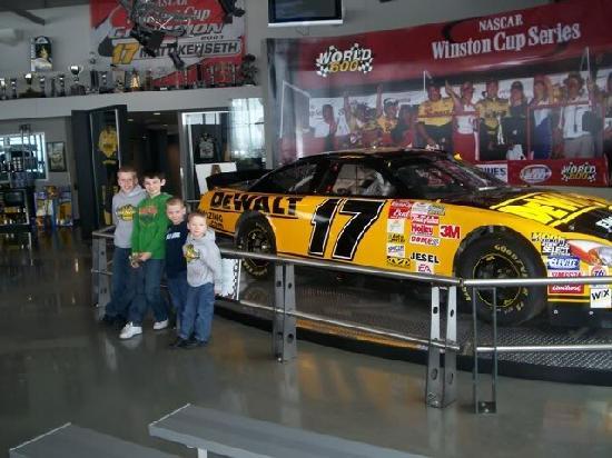 Matt Kenseth Racing Museum: Matt Kenseth Museum