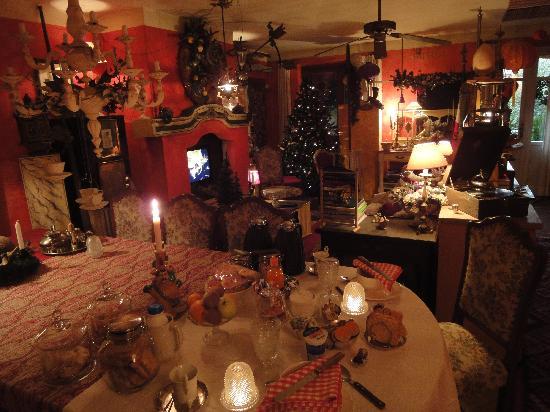 Carmagnola, İtalya: ...il salotto...