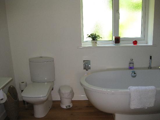 Pine Ridge: Red Room bathroom