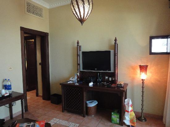 Wohnzimmer im Hilton Resort RAK