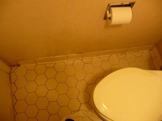 Days Inn Pensacola - Historic Downtown: bathroom floor