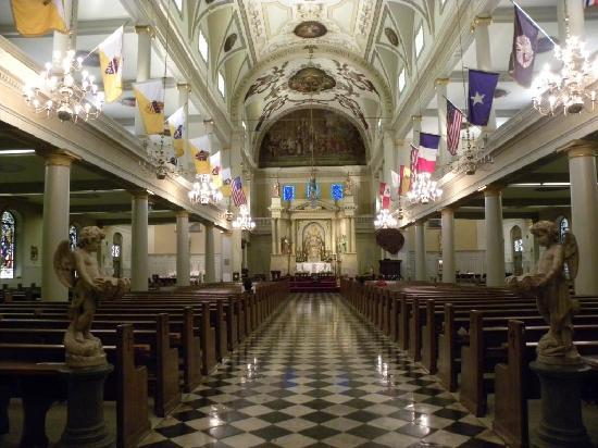 Katedra św. Ludwika: St. Louis Cathedral - Interno