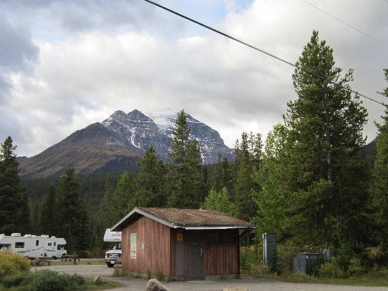 Lake Louise campground toilet block