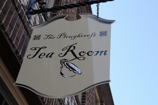 The Ploughcroft Tea Room : Sign
