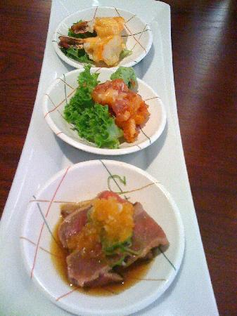 Mugen: small dishes