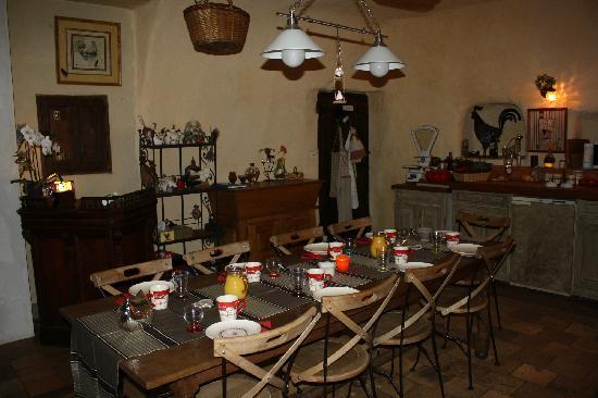 Clos Mariotte : super cuisine et p'tit déj