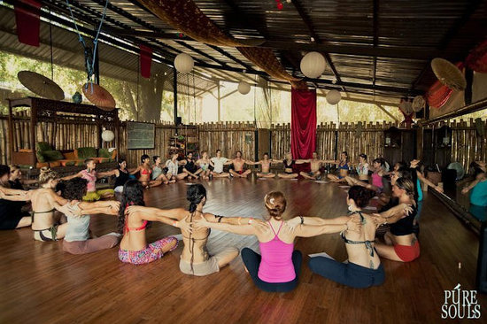 Danyasa Eco-Retreat - Bamboo Yoga Play Studio
