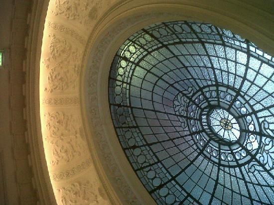 Gallery of Modern Art: The stunning roof of the entrance hall/stairs