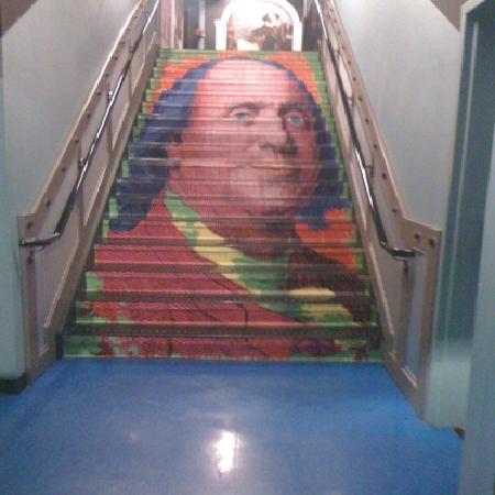 WonderWorks: Franklin Stairs