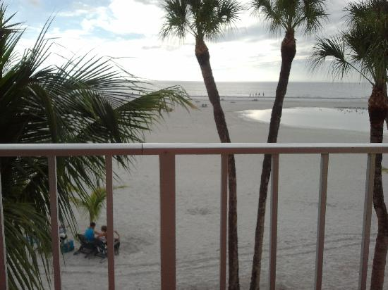 Outrigger Beach Resort: View from our apartment