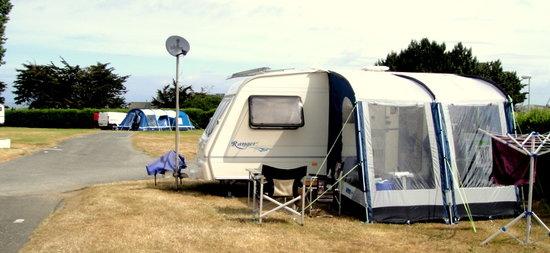 Camping Municipal La Cite d'Alet :                                                       Cite D'alet Camp Site