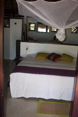 Playa Selva : Second floor room in La Duna Bungalow