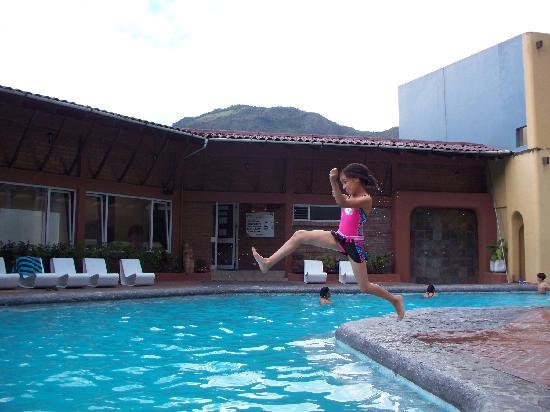 Sangay Spa Hotel: Hotel Sangay pool