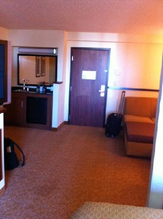 Hyatt Place OKC Airport: living room