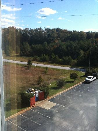 Americas Best Value Inn : View from room 506