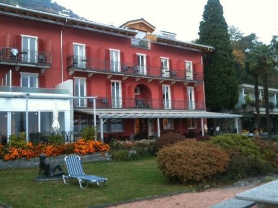 Hotel Collinetta : vue du jardin
