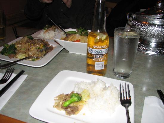 Thai Stick Restaurant: 料理