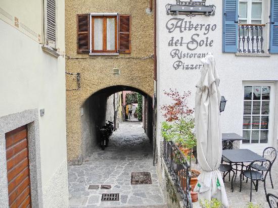 Albergo del Sole: Front of the hotel