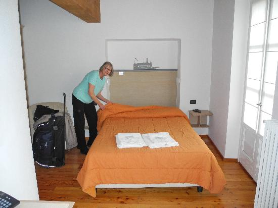 Albergo del Sole: Our bed