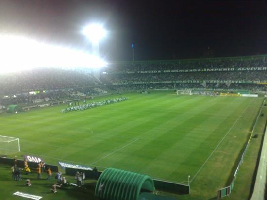 Major Antonio Couto Pereira Stadium: Noite de Festa....