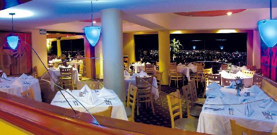 Hotel San Luis Lindavista: Restaurant El Mirador