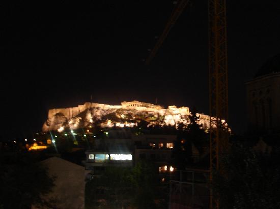 Hotel Metropolis: La vista por la noche