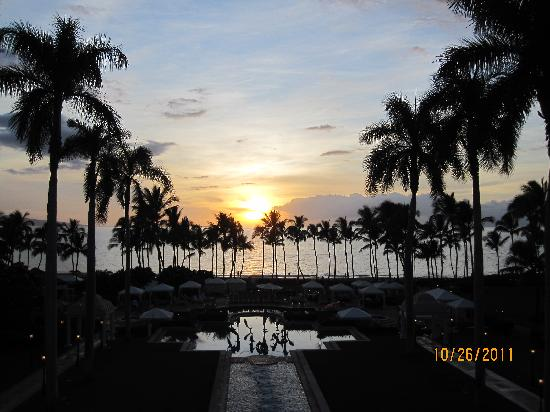 Grand Wailea - A Waldorf Astoria Resort: Sunset