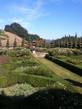 Newton Vineyard: Beautiful gardens on winery grounds