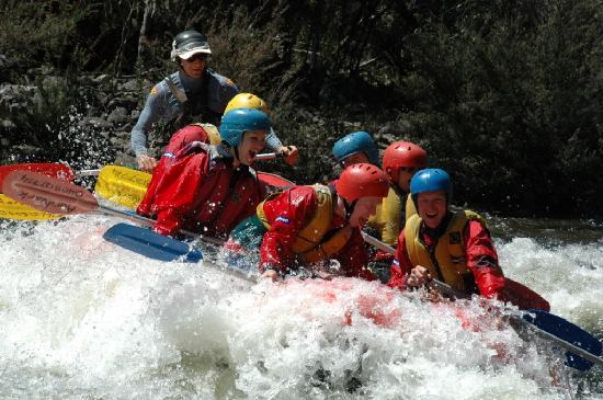 Aardvark Adventures: Rafting Mersey River