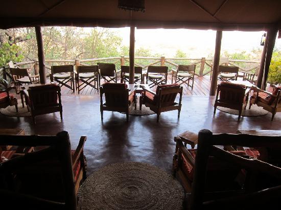 Kirurumu Tarangire Lodge: The bar