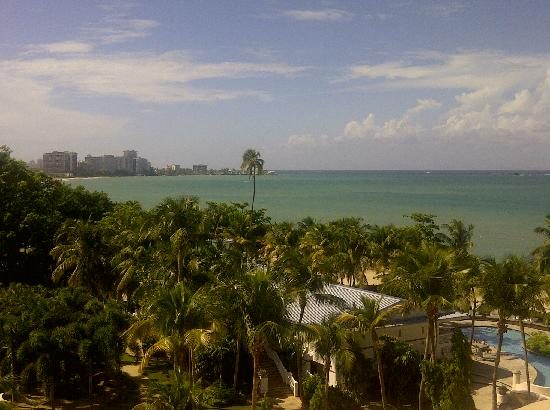 El San Juan Resort & Casino, A Hilton Hotel : The view from the 7th floor king oceanview